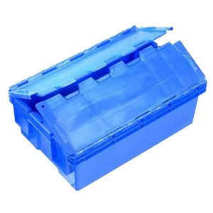 50L Nally Solid Security Crate with Lid